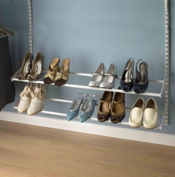 ShelfTrack Shoe Rack Kits White