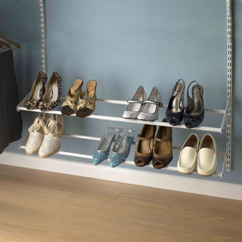 Adjustable Wardrobe shoe racking