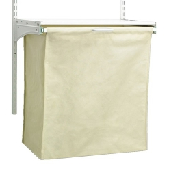 24Inch ShelfTrack Fabric Hamper