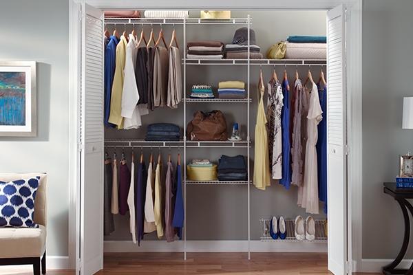 Classic Wardrobe shelving