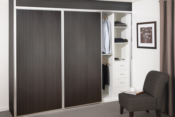 Melamine Sliding Doors | Wardrobe World Canning Vale Perth