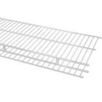 Classic Wire White Ventilated shelving