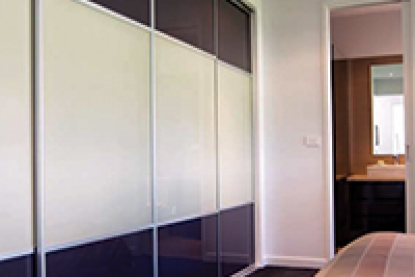 Glass and Panel Custom made sliding doors
