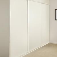 Melamine White Sliding Doors