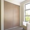 Sliding Doors with White Frame
