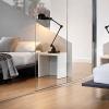 Frameless Mirror Sliding Doors