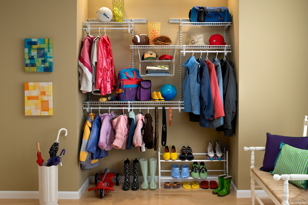 Wardrobe recess shelving ideas