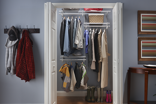 Closet Maid adjsutable shelving