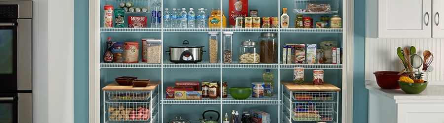 Linen and Pantry shelving for your home