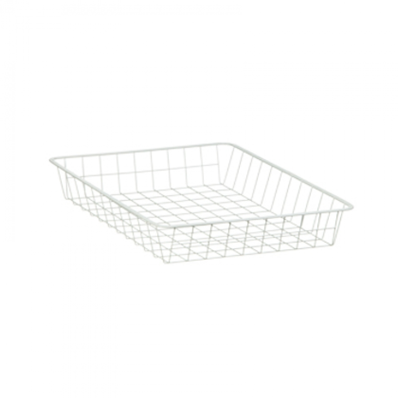 Single White Basket