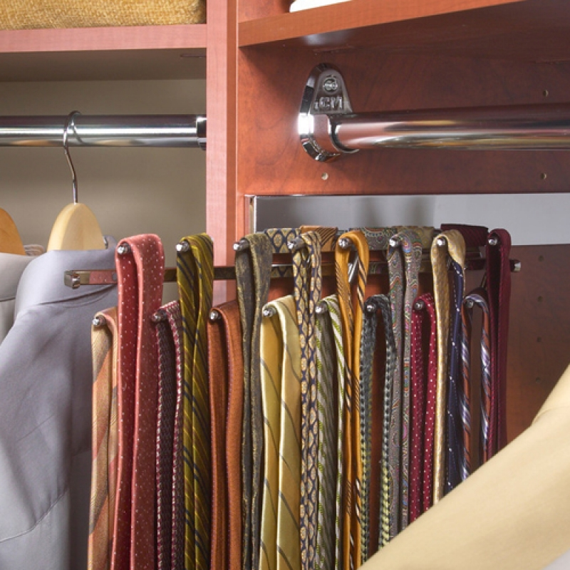 Sliding Tie Rack Wardrobe World Perth